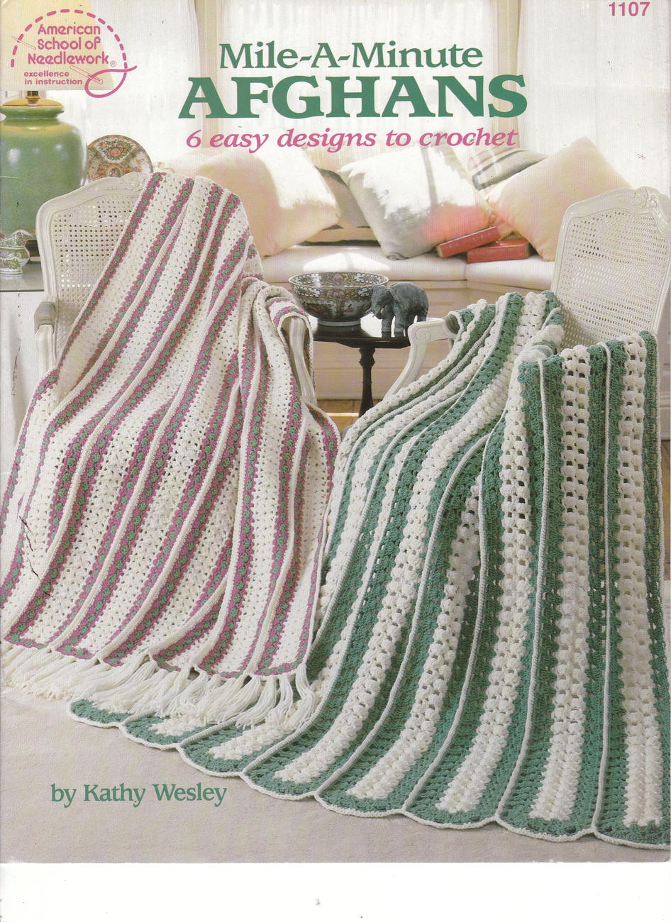Lovely Mile A Minute Afghans 6 Easy Designs to Crochet Patterns Mile A Minute Crochet Of Beautiful 37 Photos Mile A Minute Crochet
