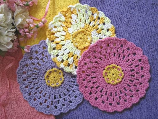 """Lovely Miss Abigail S Hope Chest """"vintage Rose"""" Granny Round Round Crochet Pattern Of Unique 50 Models Round Crochet Pattern"""
