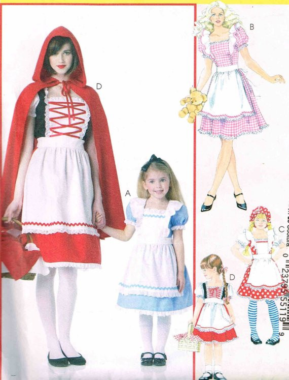 Lovely Misses Girls Little Red Riding Hood Sewing Pattern Cape Red Riding Hood Cape Pattern Of Charming 43 Pictures Red Riding Hood Cape Pattern