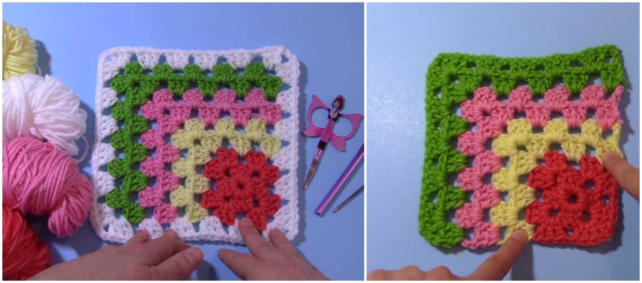 Lovely Mitered Granny Square Tutorial – Crochet Ideas Granny Square Tutorial Of Charming 40 Ideas Granny Square Tutorial