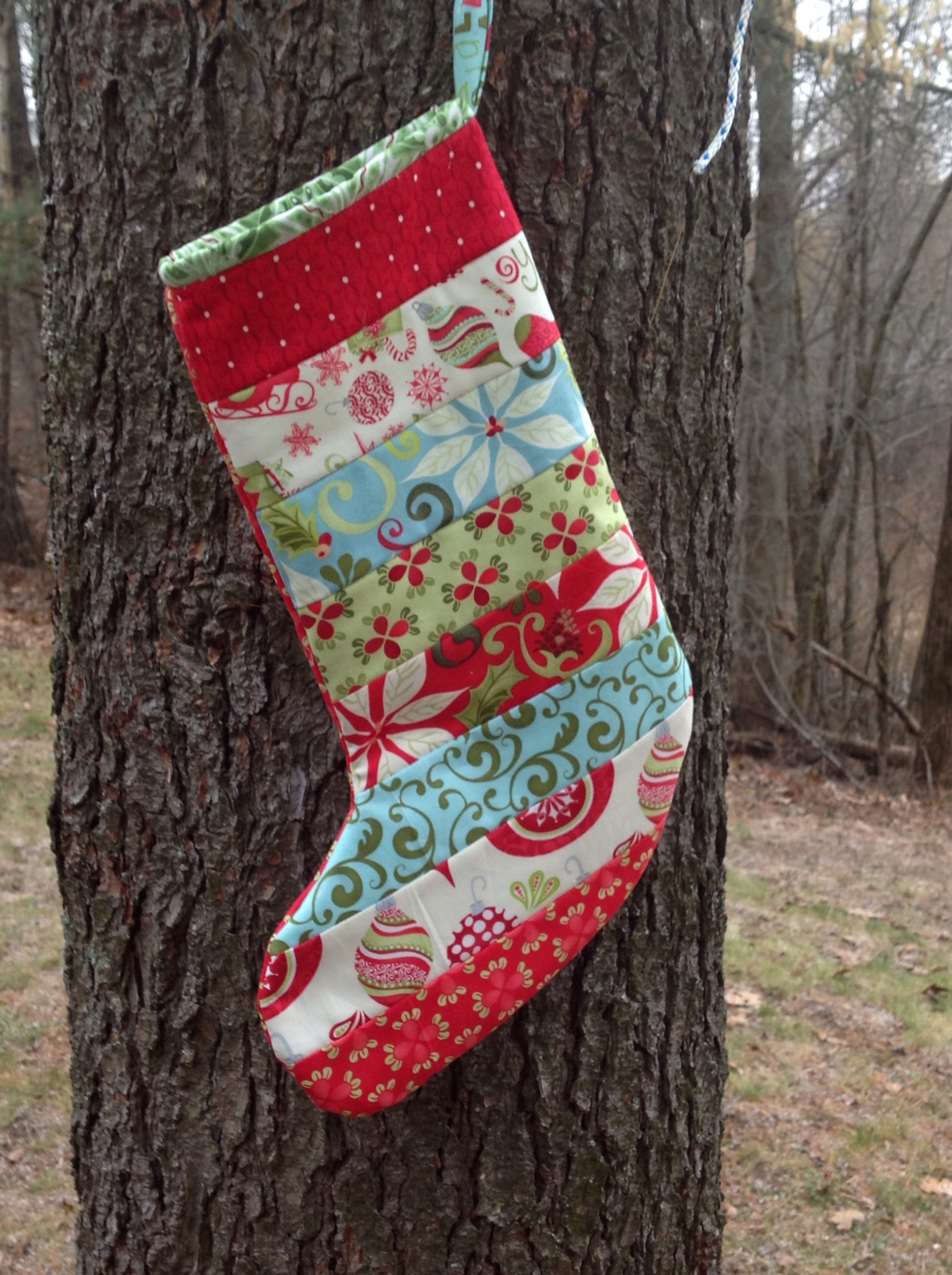Lovely Modern Material Girl Tutorial Quilted Christmas Stockings Xmas Stocking Patterns Of Marvelous 47 Images Xmas Stocking Patterns