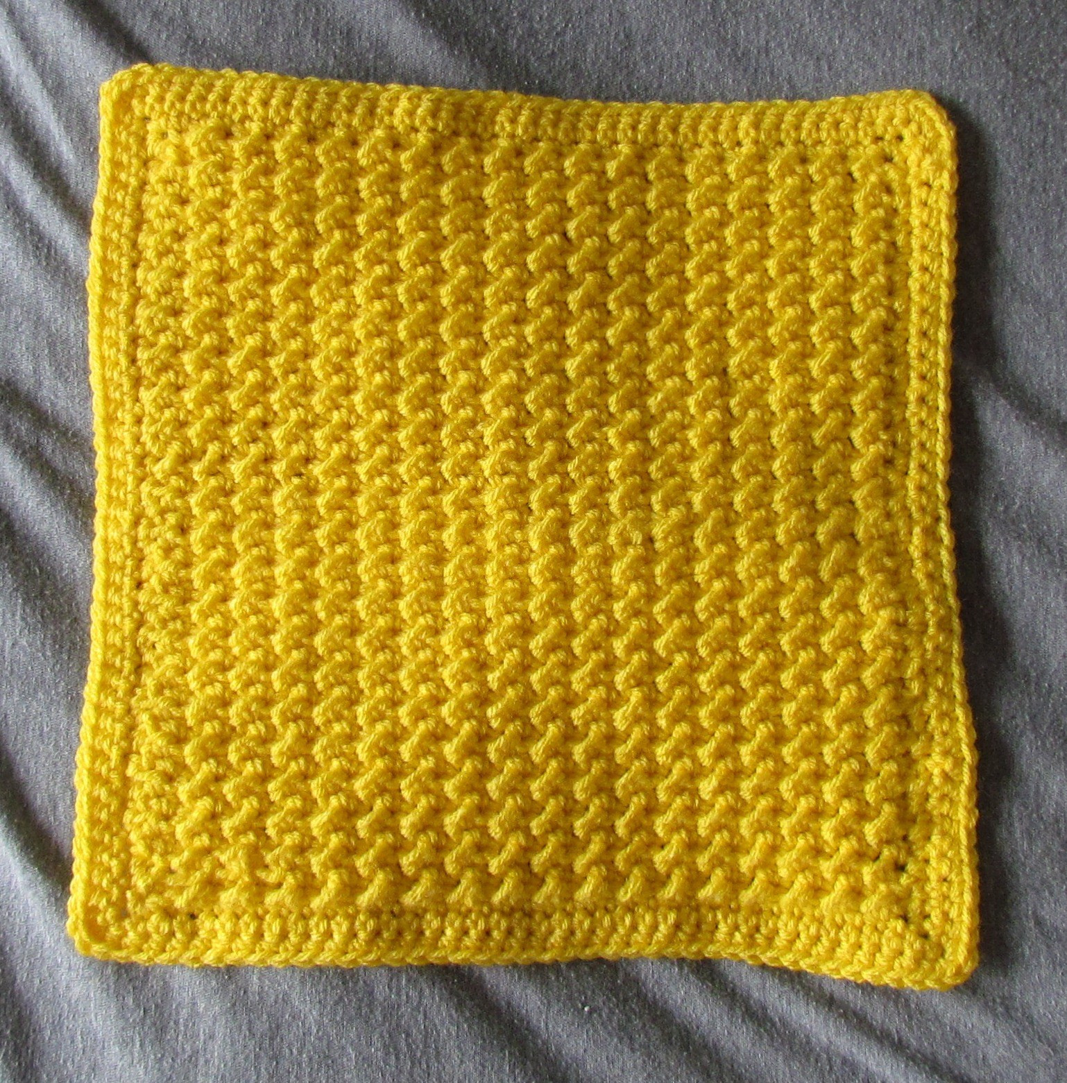 """Lovely Moss Stitch 12"""" Afghan Square Free Crochet Pattern Afghan Stitch Patterns Of Beautiful 50 Pics Afghan Stitch Patterns"""