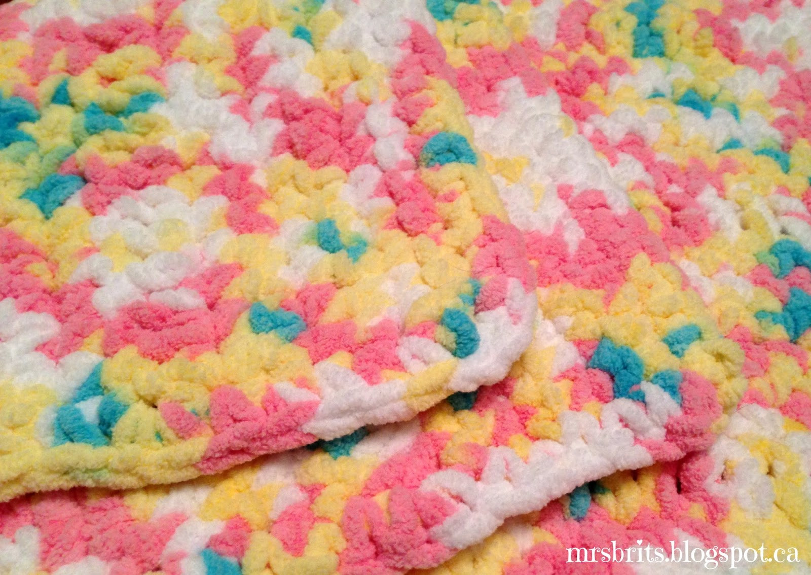 Lovely Mrsbrits Sweet and Chunky Baby Afghan Crochet Pattern Best Yarn for Baby Blanket Of Brilliant 49 Images Best Yarn for Baby Blanket