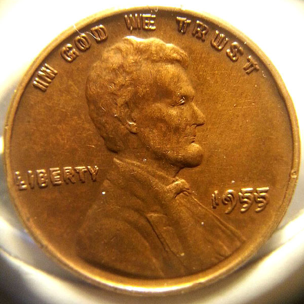 Lovely My Friend Finds A 1955 Doubled Die Lincoln Cent Double Die Penny Value Of Wonderful 48 Pictures Double Die Penny Value