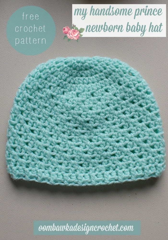 Lovely My Handsome Prince Newborn Baby Hat • Oombawka Design Crochet Free Crochet Patterns for Newborns Of Unique 40 Photos Free Crochet Patterns for Newborns