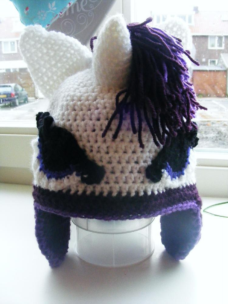 My Little Pony Rarity Unicorn Hat Pattern Perfect Gift