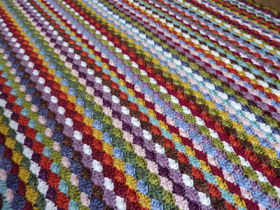 Lovely My Rose Valley Crochet Blanket Voila Crochet Shell Blanket Of Lovely 40 Pictures Crochet Shell Blanket