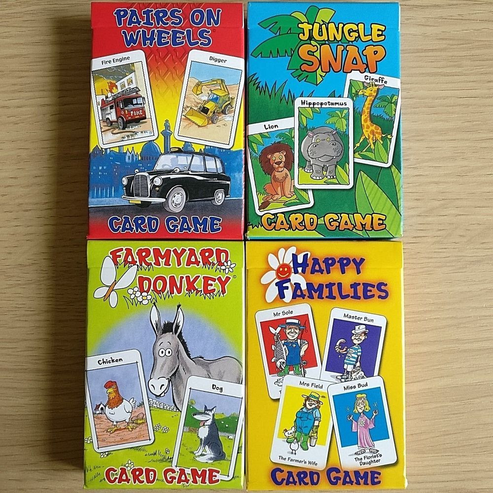 Lovely New Card Game Sets Donkey Happy Families Snap Pairs New Family Games Of Perfect 47 Ideas New Family Games