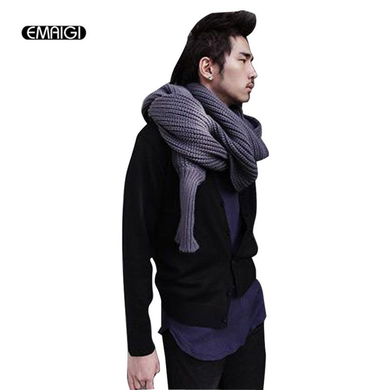 Lovely New Men Autumn and Winter Punk Hiphop Long Scarf Shawl Scarf with Sleeves Of Lovely 40 Models Scarf with Sleeves