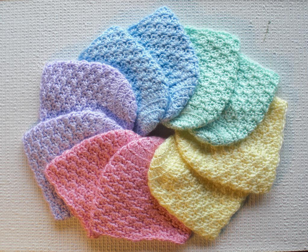 Lovely Newborn Caps Baby Hats by Jeaniek Craftsy Newborn Hat Pattern Of Great 46 Models Newborn Hat Pattern