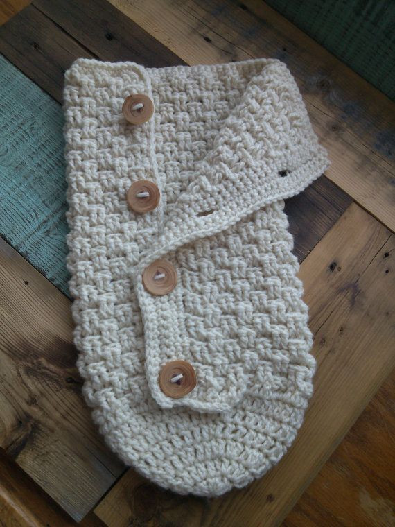 Lovely Newborn Crochet button Down Baby Cacoon by Crochet Baby Cocoon Of Great 44 Models Crochet Baby Cocoon