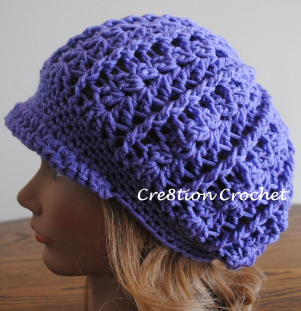 Lovely Newsboy Slouch Crochet Hat Easy Crochet Hat Patterns for Adults Of Delightful 48 Photos Easy Crochet Hat Patterns for Adults