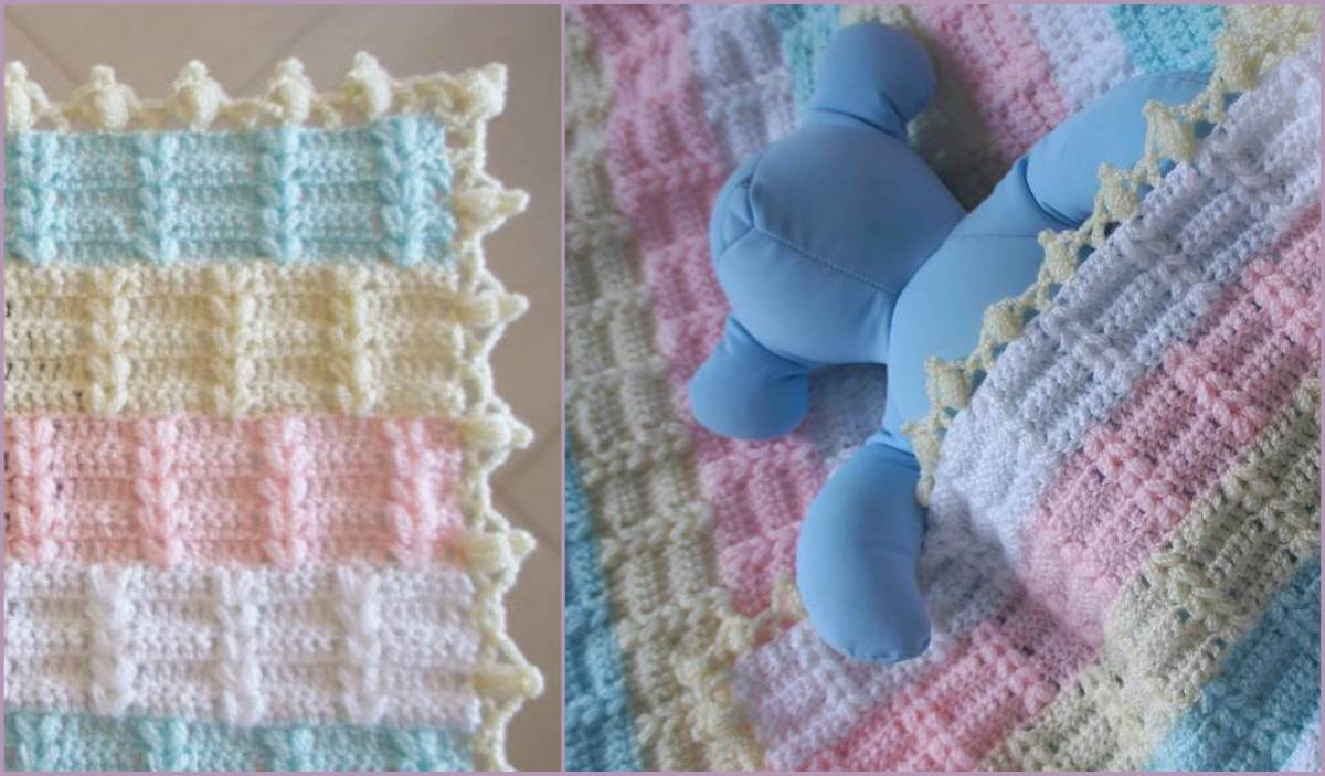 Lovely Nicole Baby Blanket Free Pattern and Tutorial Crochet Baby Blanket Video Of Marvelous 40 Pics Crochet Baby Blanket Video