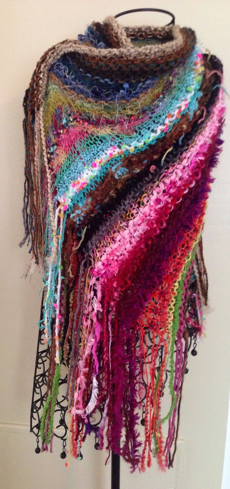 Lovely One Of A Kind Hand Knit Shawl with Fringe Knitting and Crochet Patterns Of Adorable 46 Ideas Knitting and Crochet Patterns