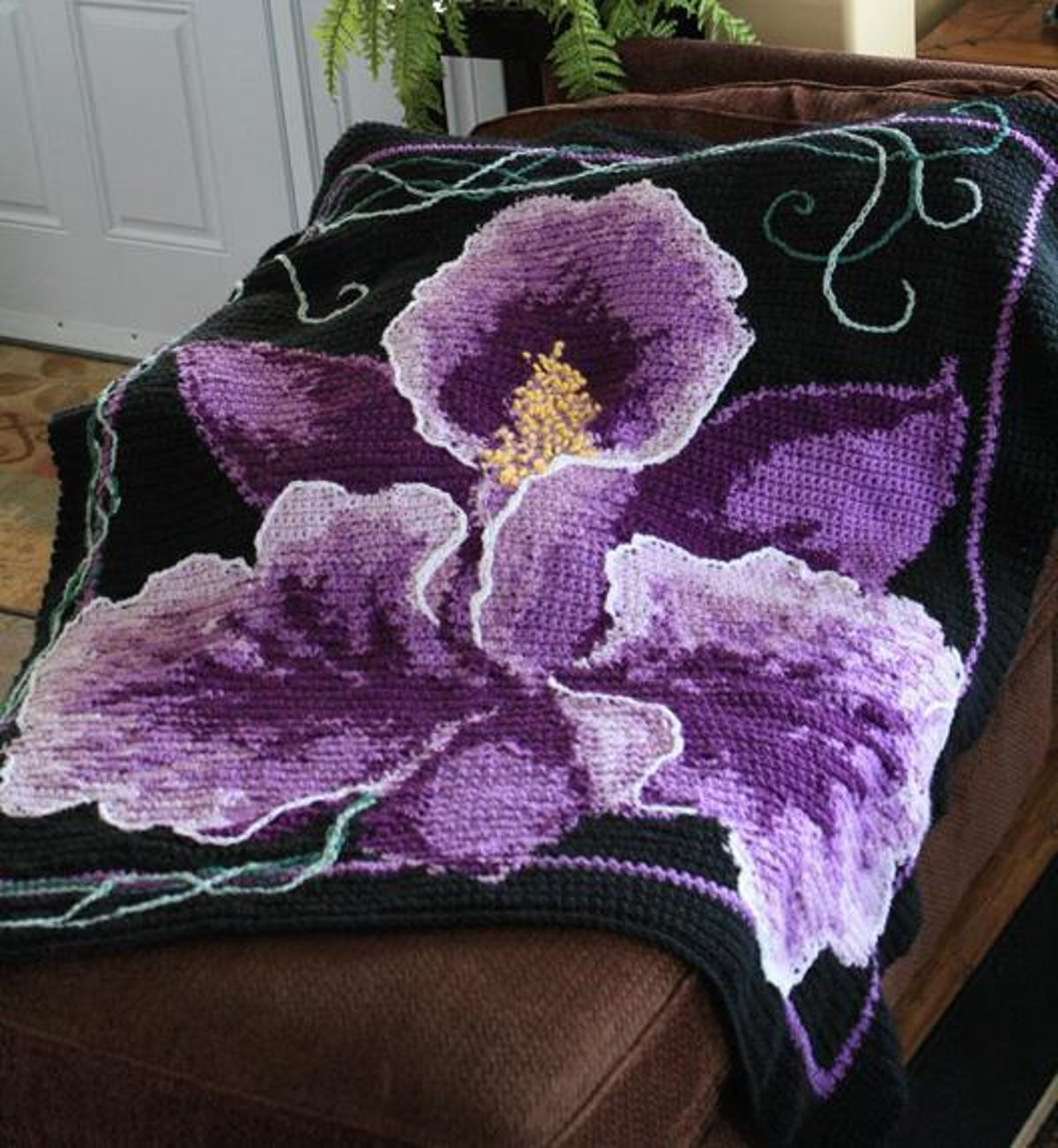 Lovely orchid Single Crochet Afghan Afghan Stitch Patterns Of Beautiful 50 Pics Afghan Stitch Patterns