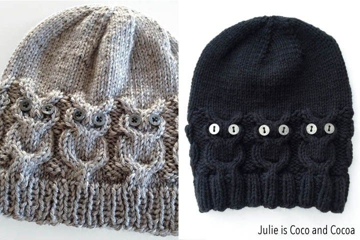 Lovely Owl Hat Knit Pattern Knitted Owl Hat Of Amazing 40 Photos Knitted Owl Hat