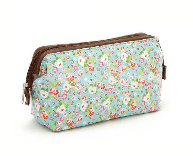 Lovely Pastoral Style Canvas Floral Pattern Cosmetic Bag Makeup Bag Pattern Of Wonderful 47 Photos Makeup Bag Pattern