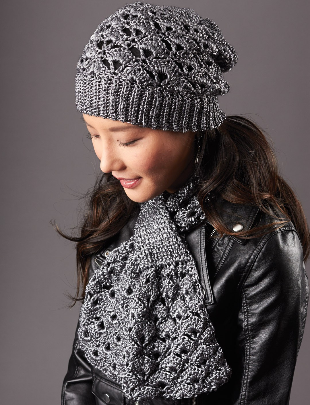 Lovely Patons Silver Screen Hat and Scarf Crochet Pattern Crochet Hat and Scarf Patterns Free Of Amazing 47 Pics Crochet Hat and Scarf Patterns Free