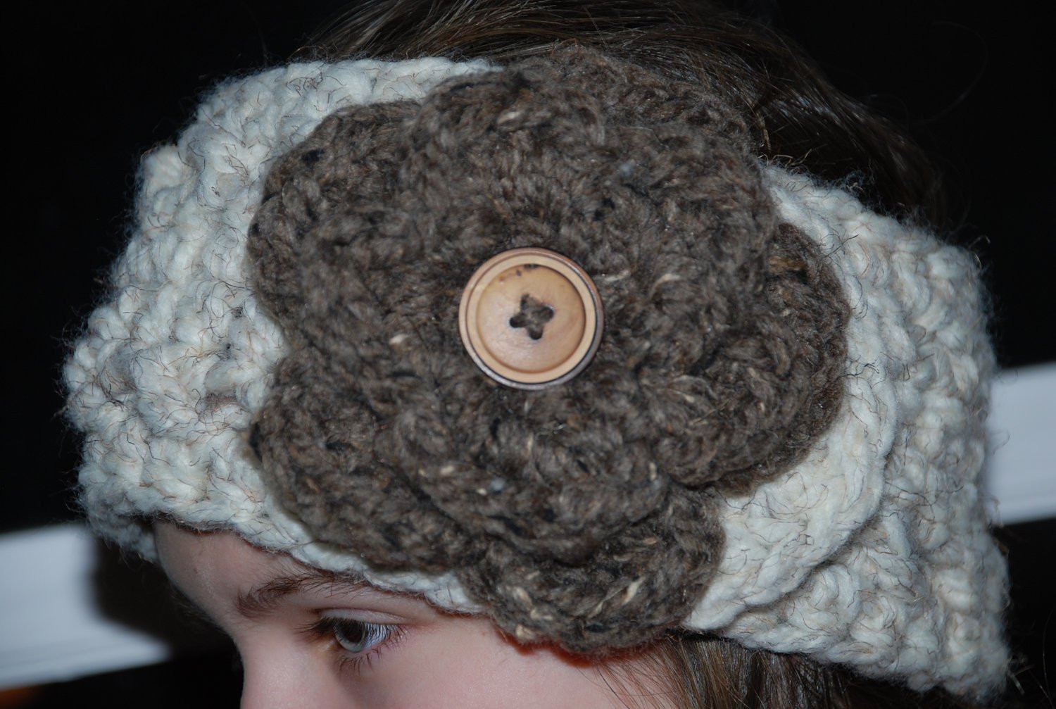 Lovely Pattern Crochet Head Warmer with Flower Crochet Head Warmer Of Fresh 39 Photos Crochet Head Warmer