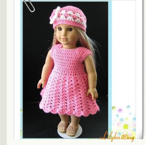 Lovely Pattern In Pdf Crocheted Doll Dress for American Girl Gotz Free Crochet Patterns for American Girl Dolls Clothes Of Adorable 50 Pictures Free Crochet Patterns for American Girl Dolls Clothes