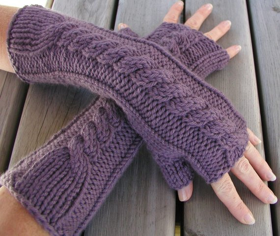 Lovely Pdf Knitting Pattern Fingerless Gloves Hand and Arm Warmers Knit Arm Warmers Of Brilliant 41 Images Knit Arm Warmers