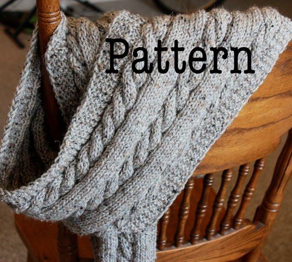 Lovely Pdf Knitting Pattern for Cabled Scarf Cable Knit Scarf Cable Knit Scarf Pattern Of Luxury 44 Ideas Cable Knit Scarf Pattern