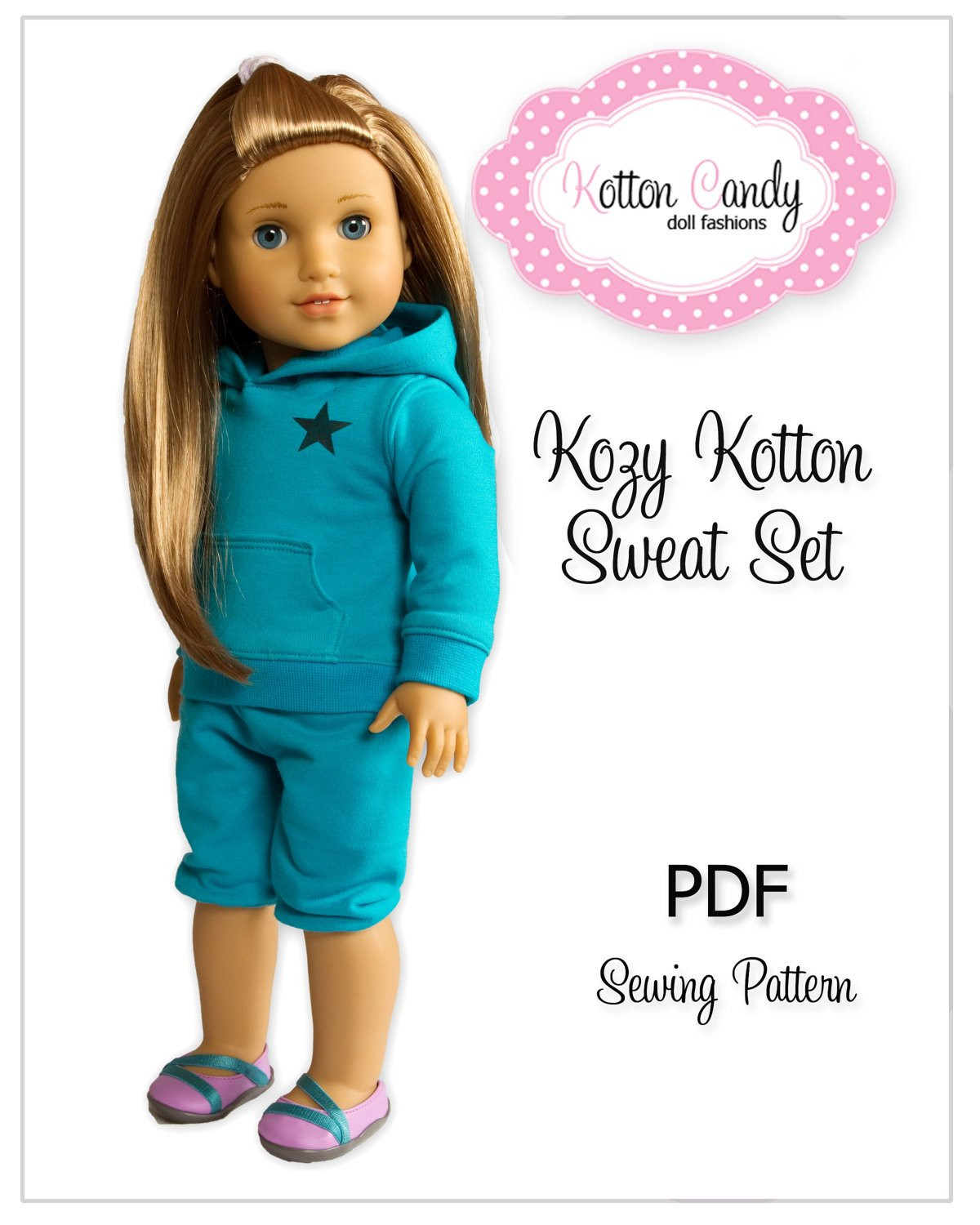 Lovely Pdf Sewing Pattern for 18 American Girl by Kottoncandypatterns American Girl Patterns Of Unique 42 Models American Girl Patterns