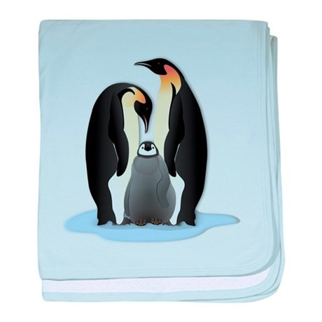 Lovely Penguin Family Baby Blanket by Animallovergifts Penguin Baby Blanket Of Amazing 48 Ideas Penguin Baby Blanket