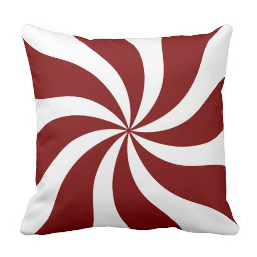 Lovely Peppermint Candy Swirl Red and White Throw Pillow Peppermint Throw Of Great 46 Ideas Peppermint Throw