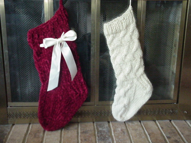 Lovely Pickin and Throwin Cabled Christmas Stocking Knit Stocking Pattern Of Attractive 47 Pictures Knit Stocking Pattern