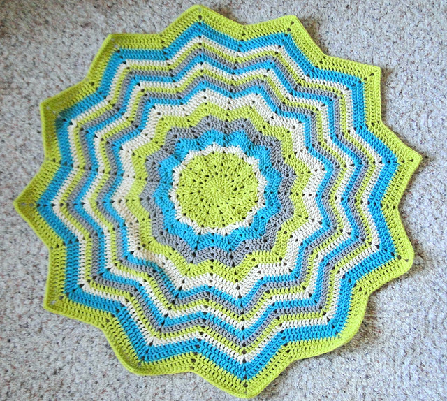 Lovely Plus 3 Crochet Boy Round Ripple Done Round Crochet Blanket Of Fresh 46 Models Round Crochet Blanket