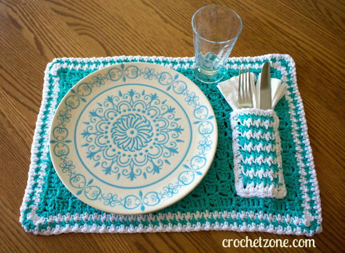 Lovely Pocket Placemats the Bright Ideas Blog Crochet Placemats Of Gorgeous 40 Models Crochet Placemats