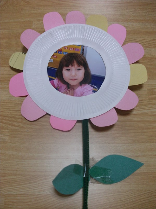 Preschool Crafts for Kids Mother s Day Flower Picture