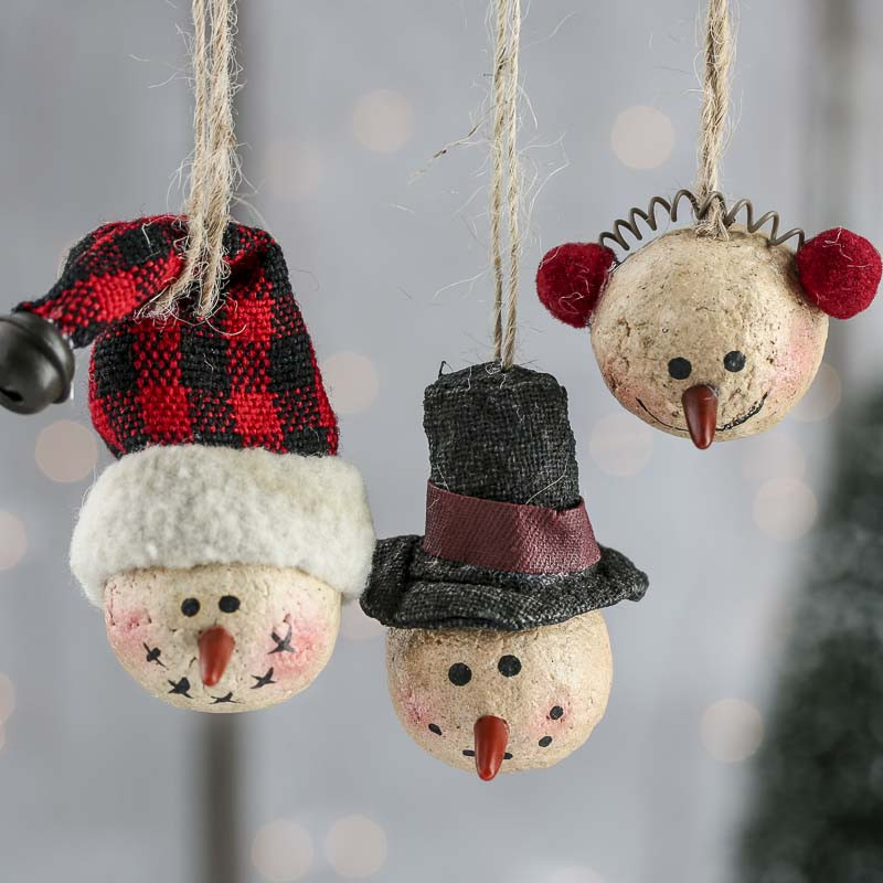 Lovely Primitive Paper Clay Snowman ornaments Christmas Snowman Christmas ornaments Of Adorable 45 Models Snowman Christmas ornaments