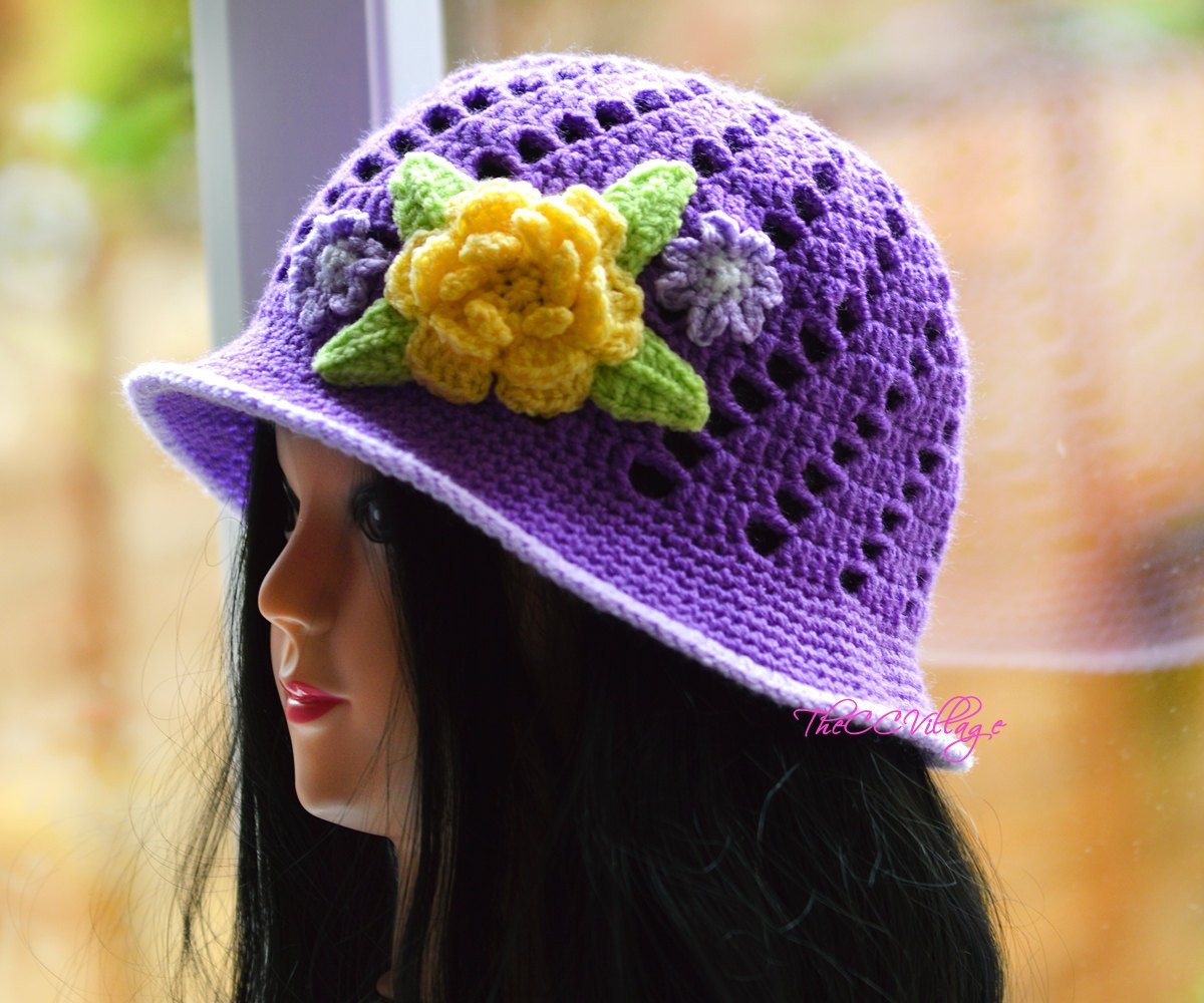 Lovely Purple Crochet Womens Hats Handmade Teen Hat Woman Cap with Ladies Crochet Hats Of Contemporary 46 Pics Ladies Crochet Hats