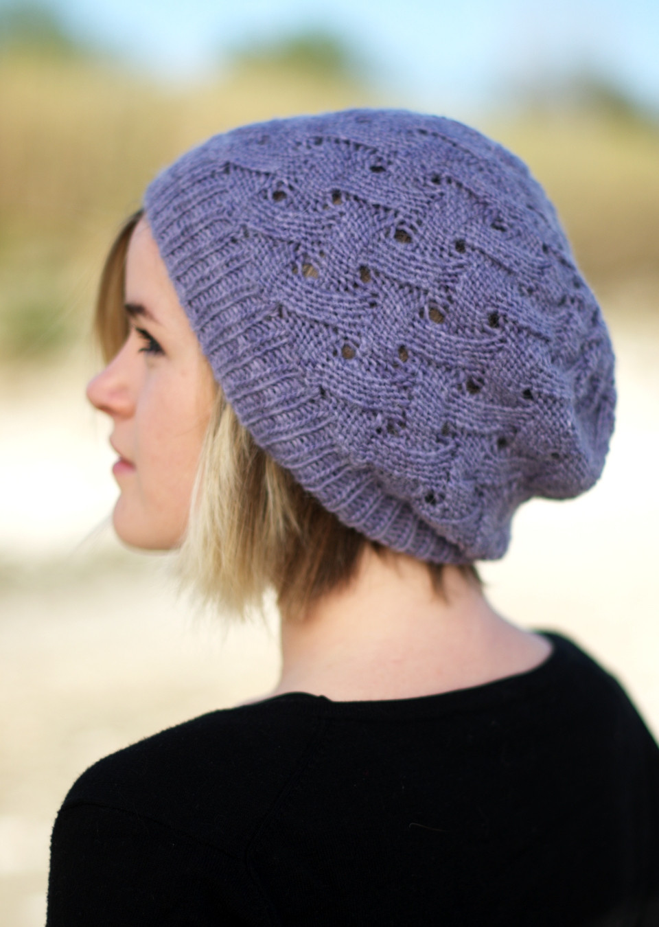Lovely Ql Slouch Reversible Slouchy Lace Hat Knitting Pattern Knit Slouchy Beanie Of Lovely 42 Images Knit Slouchy Beanie