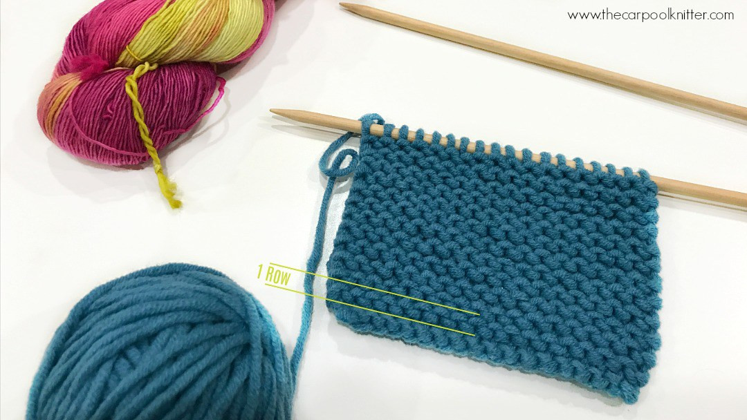 Quick Tip Counting Rows in Knitting