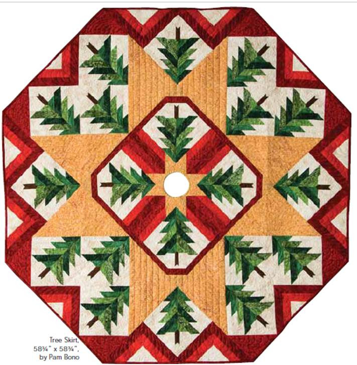 Lovely Quilt Inspiration Free Pattern Day Christmas Tree Skirts Free Tree Skirt Patterns Of Brilliant 44 Pics Free Tree Skirt Patterns