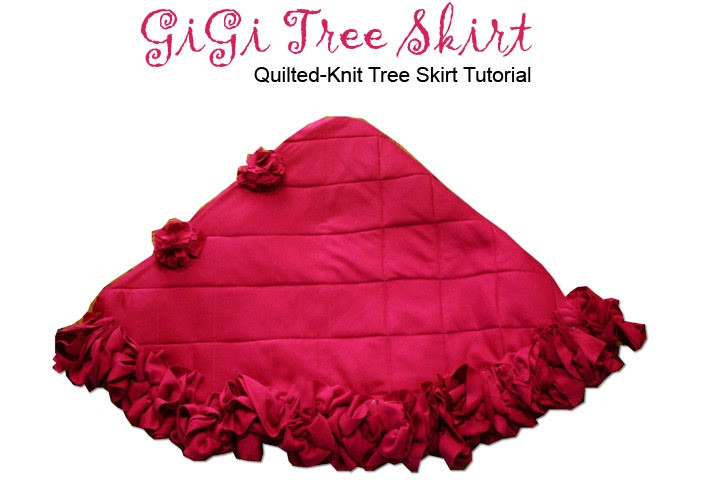 Lovely Quilted Knit Tree Skirt Tutorial Knit Tree Skirt Pattern Of Delightful 49 Images Knit Tree Skirt Pattern
