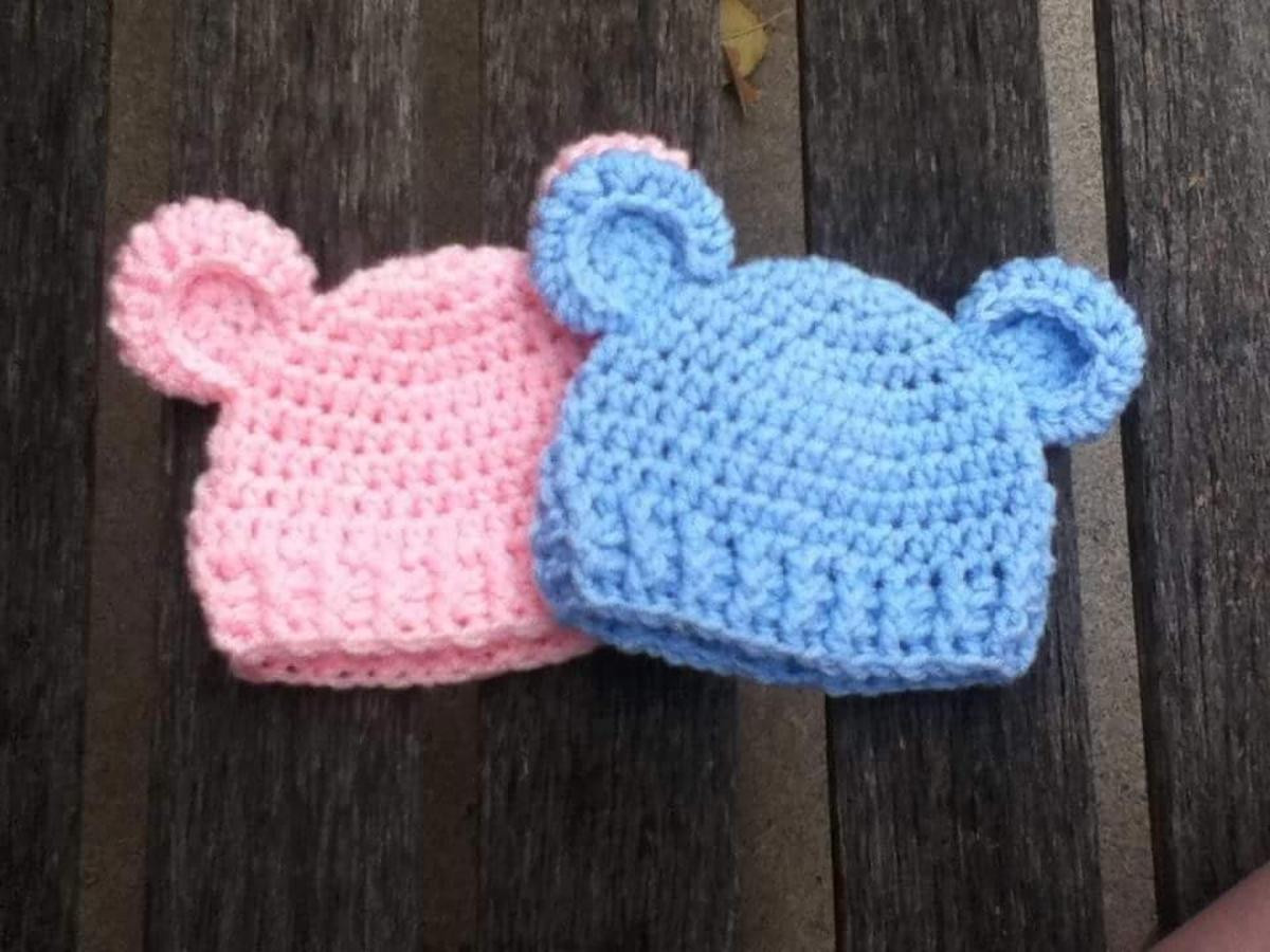 "Lovely ""baby Bear"" Simple Baby Beanie Crochet toddler Hat Pattern Of Delightful 40 Ideas Crochet toddler Hat Pattern"