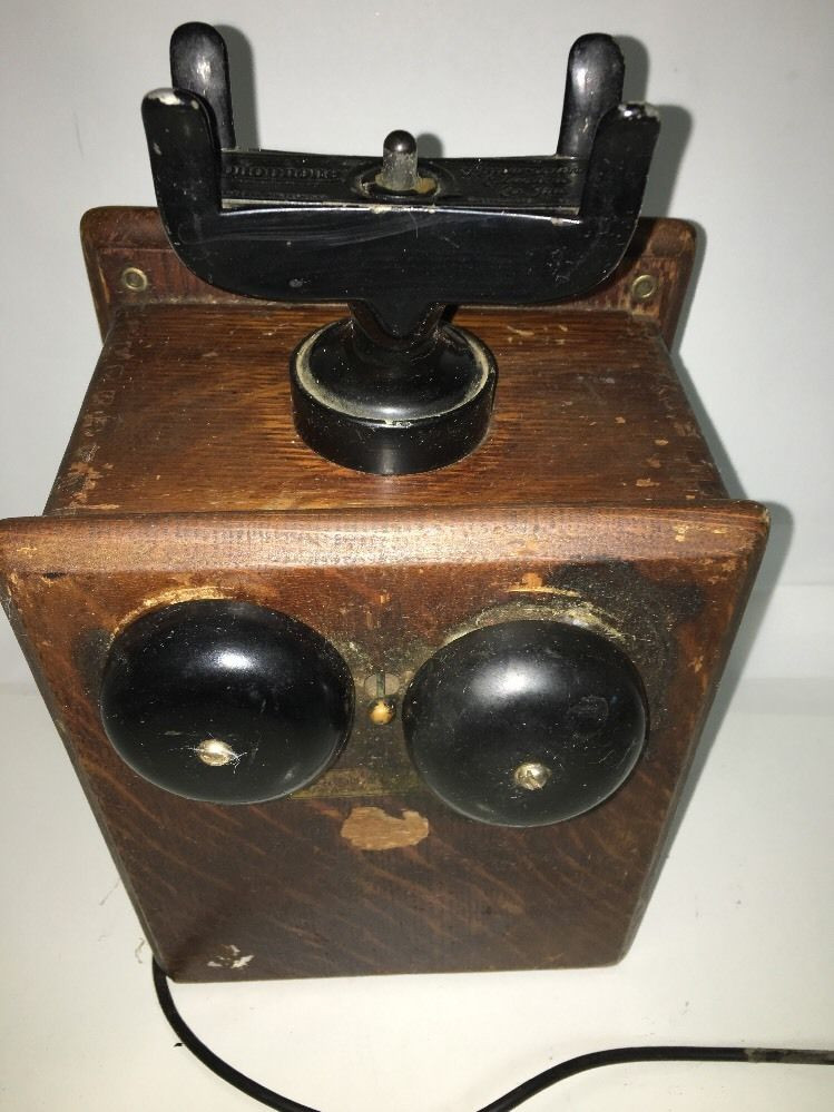 Lovely Rare Antique Wood Monophone Electric Wall Mount Crank Antique Wall Phones for Sale Of Brilliant 40 Pics Antique Wall Phones for Sale