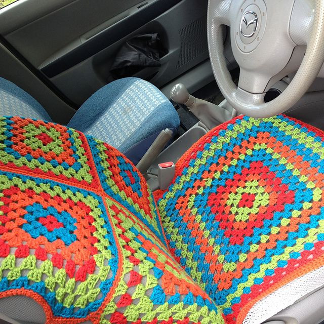 Ravelry YackityYax s Car Seat Cover