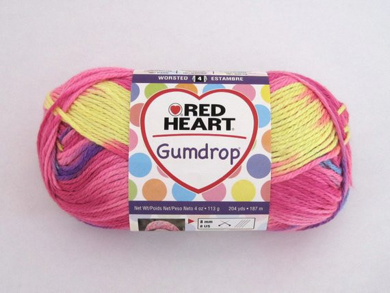 Lovely Red Heart Gumdrop Yarn Pink Blue Yellow Purple Craft Red Heart Gumdrop Of Gorgeous 35 Images Red Heart Gumdrop