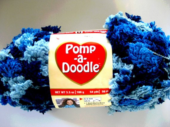 Lovely Red Heart Pomp A Doodle Yarn Faded Jeans by Crochetgal On Etsy Pomp A Doodle Yarn Of Charming 42 Pics Pomp A Doodle Yarn