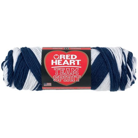 Lovely Red Heart Team Spirit Yarn Navy & White Walmart Red Heart Team Spirit Yarn Of Top 46 Pics Red Heart Team Spirit Yarn