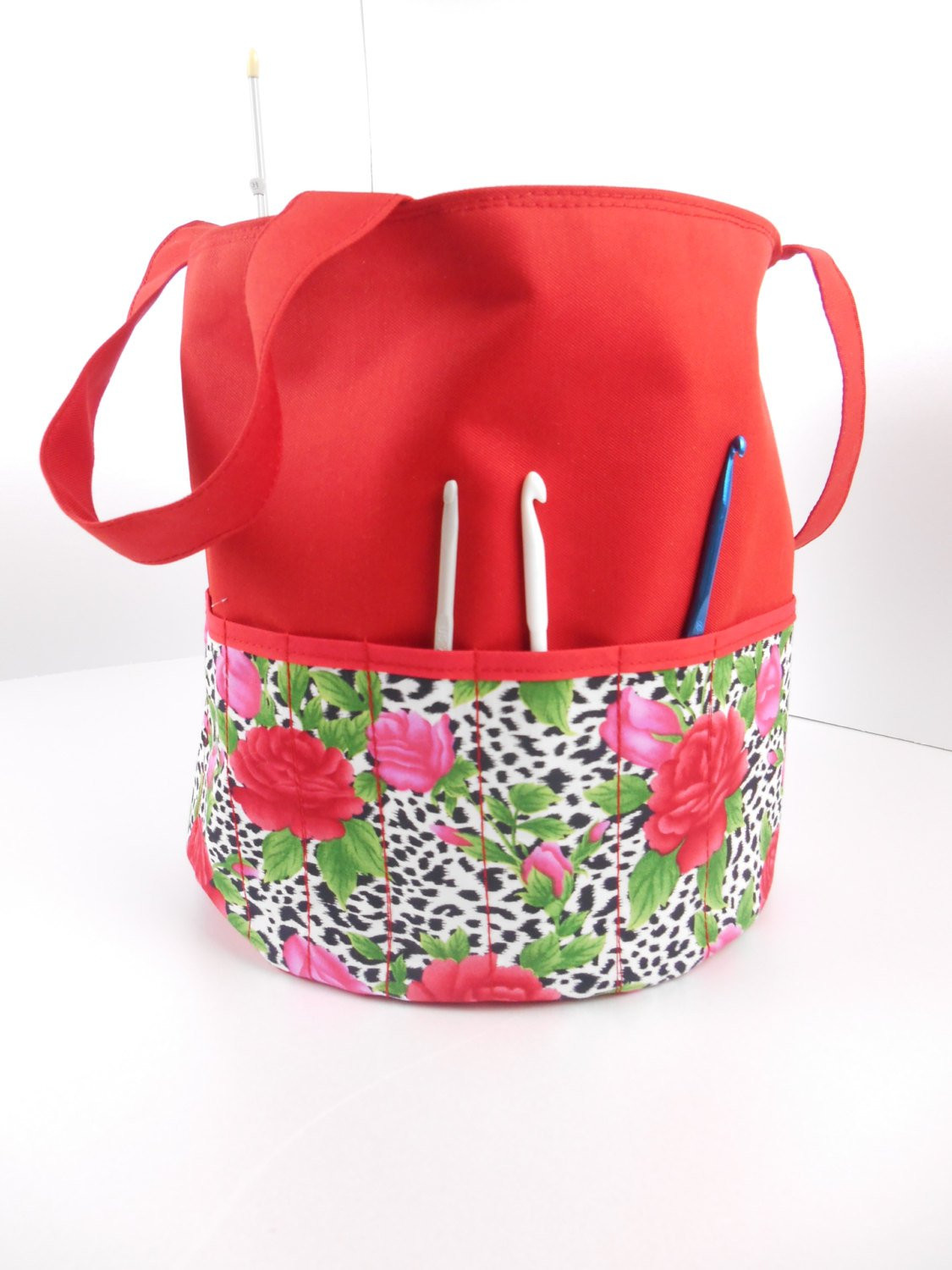 Lovely Red Knitting Bags Crocheting Bag Sewing Bag Round tote Knitting Bags and totes Of Marvelous 48 Ideas Knitting Bags and totes