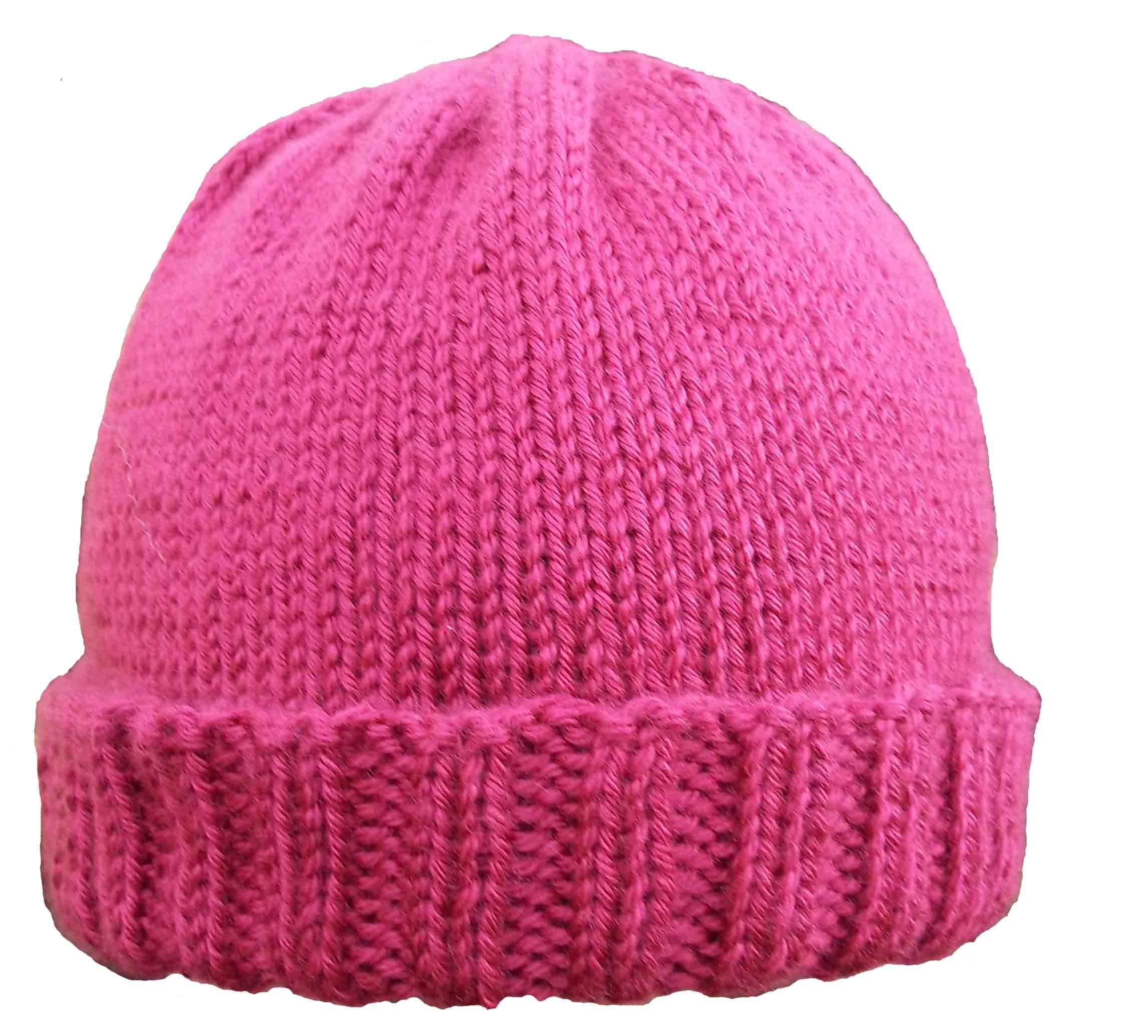 Lovely Ribbed Brim Hat Pattern Easy Knit Hat Of Brilliant 47 Pictures Easy Knit Hat