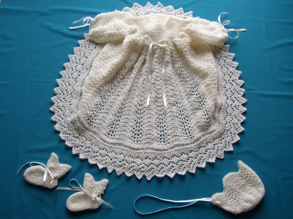 Ribbons & Lace Christening Gown by Nittineedles Craftsy
