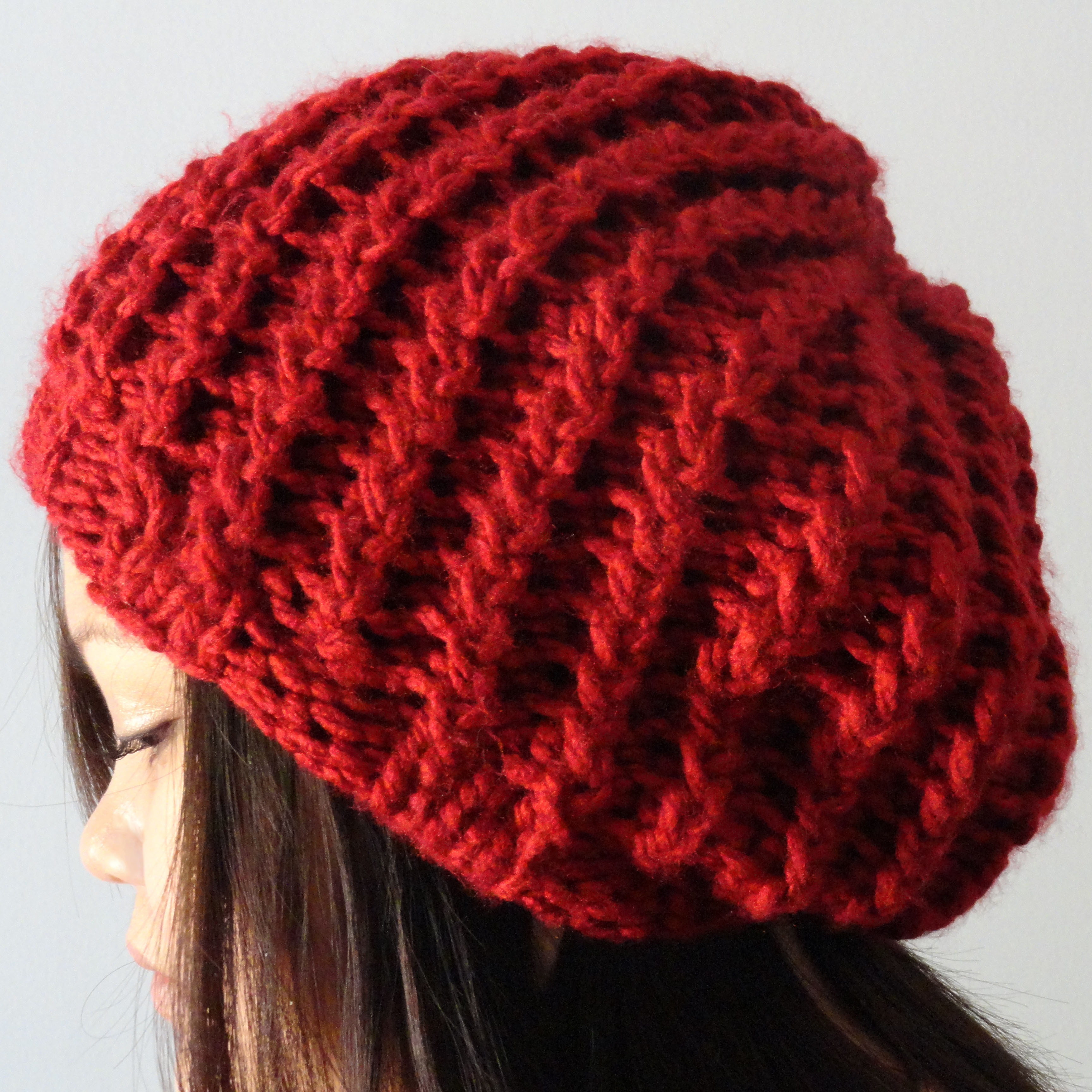 Lovely Rickrack Rib Slouchy Hat Purl Avenue Slouchy Hat Knit Pattern Of Superb 45 Ideas Slouchy Hat Knit Pattern