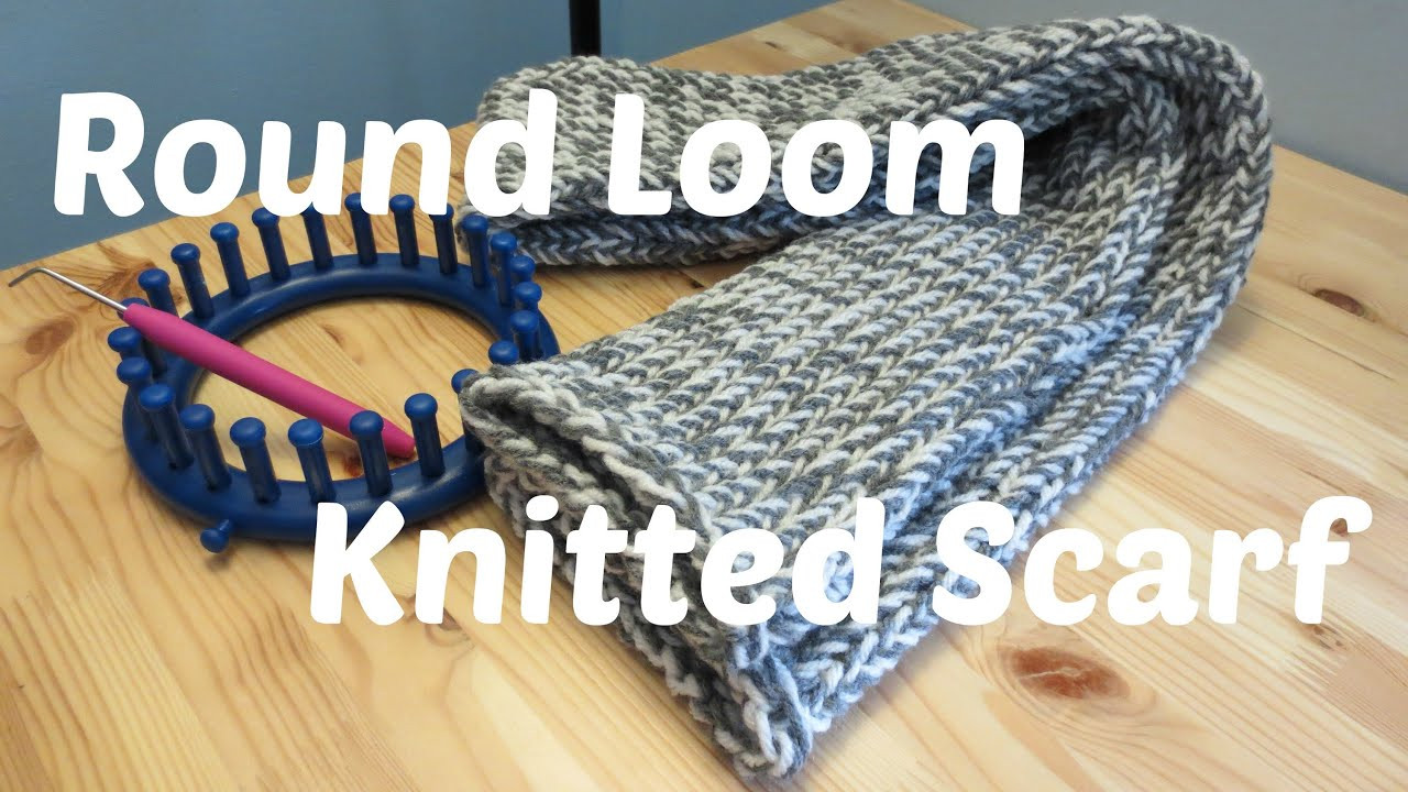 Lovely Round Loom Knitted Scarf Scarf Loom Of Top 41 Pictures Scarf Loom